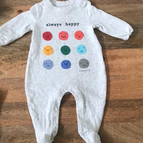 db1ff852d GAP One Pieces | Baby Always Happy Onesie | Poshmark